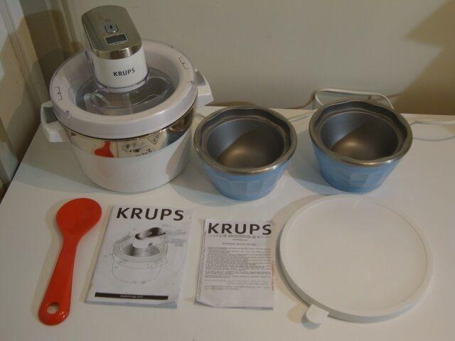 Velsete Ismaskine / Ice Cream Maker, KRUPS – dba.dk – Køb og Salg af Nyt IP-71