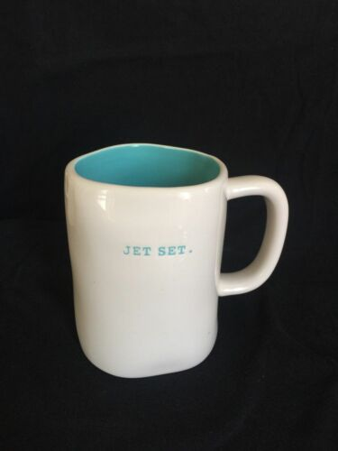 VACAY FUN OUT OF OFFICE New Rae Dunn Mug Artisan Collection BY Magenta JET SET