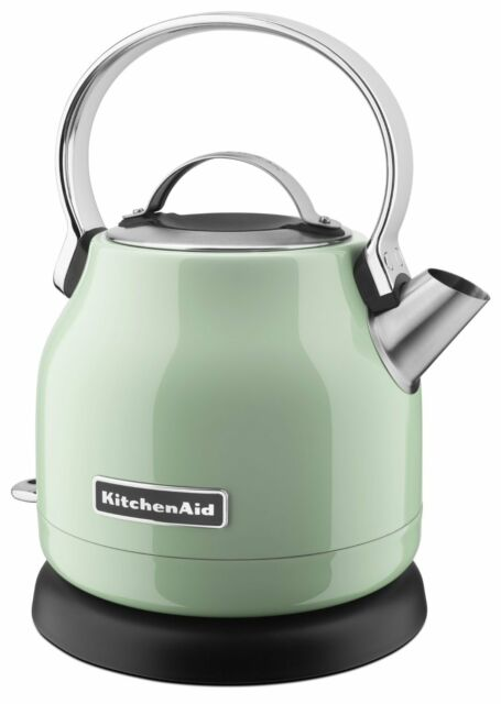 KitchenAid Stainless Steel Electric Water Tea Kettle w/Base KEK1222PT Pistachio