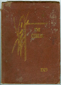 1929 Ceres Union High School, Ceres, California, the Cereal Yearbook