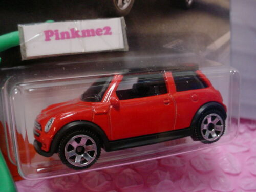 2020 Matchbox #39 /'03 MINI COOPER S ☆ red//black; 6sp☆MBX CITY☆METAL☆
