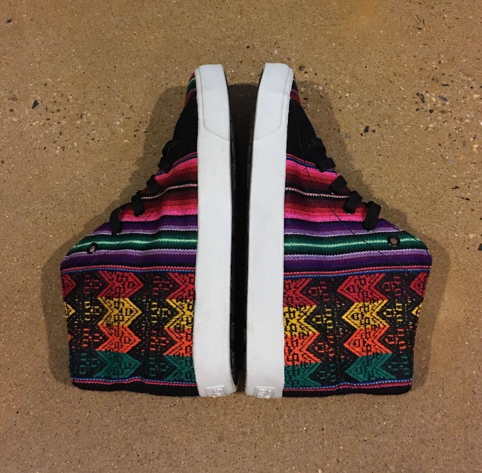 Inkkas JR'S Spectrum Hightop Größe 8 Damens 6-Boys Schuhes Sneakers Handmade In Peru
