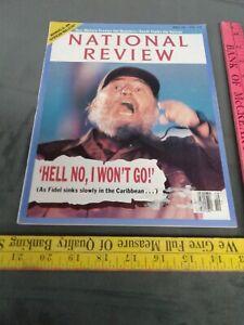 National Review Magazine- March 5, 1990 Fidel castro