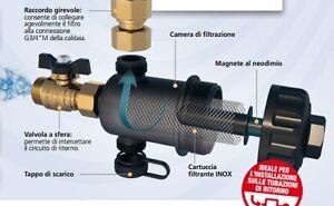 Rbm filtro defangatore magnetico 3 4 supercompattosuper - Montare uno scaldabagno ...