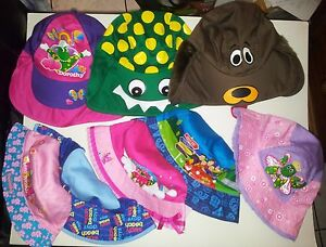 91caa4e8229 Image is loading Wiggles-hats-caps-Legionaires-Cotton-Kids-sizes-assorted-