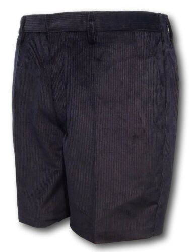 Shorts David Luke Grey Navy Classic School Uniform Corduroy Short Trousers