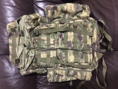 70L Army Combat Rucksack Viking Military Backpack Travel Pack Back Bag