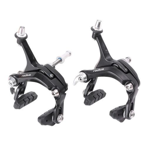 Radius Universal Road Bike Composite Arm Front /& Rear Brake Caliper Set Aluminum