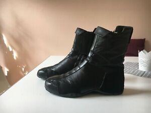 Uvp 350€ Top Dkny Stiefeletten Size SchuheSchwarz Leder Zu Details Unisex 41 5 kZOXiuTP