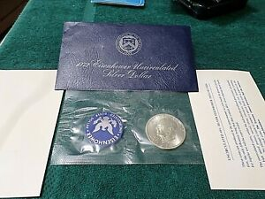 1972-S-Uncirculated-Silver-40-Eisenhower-IKE-Dollar-US-Mint-UNC-Coin-Ideal-Gift
