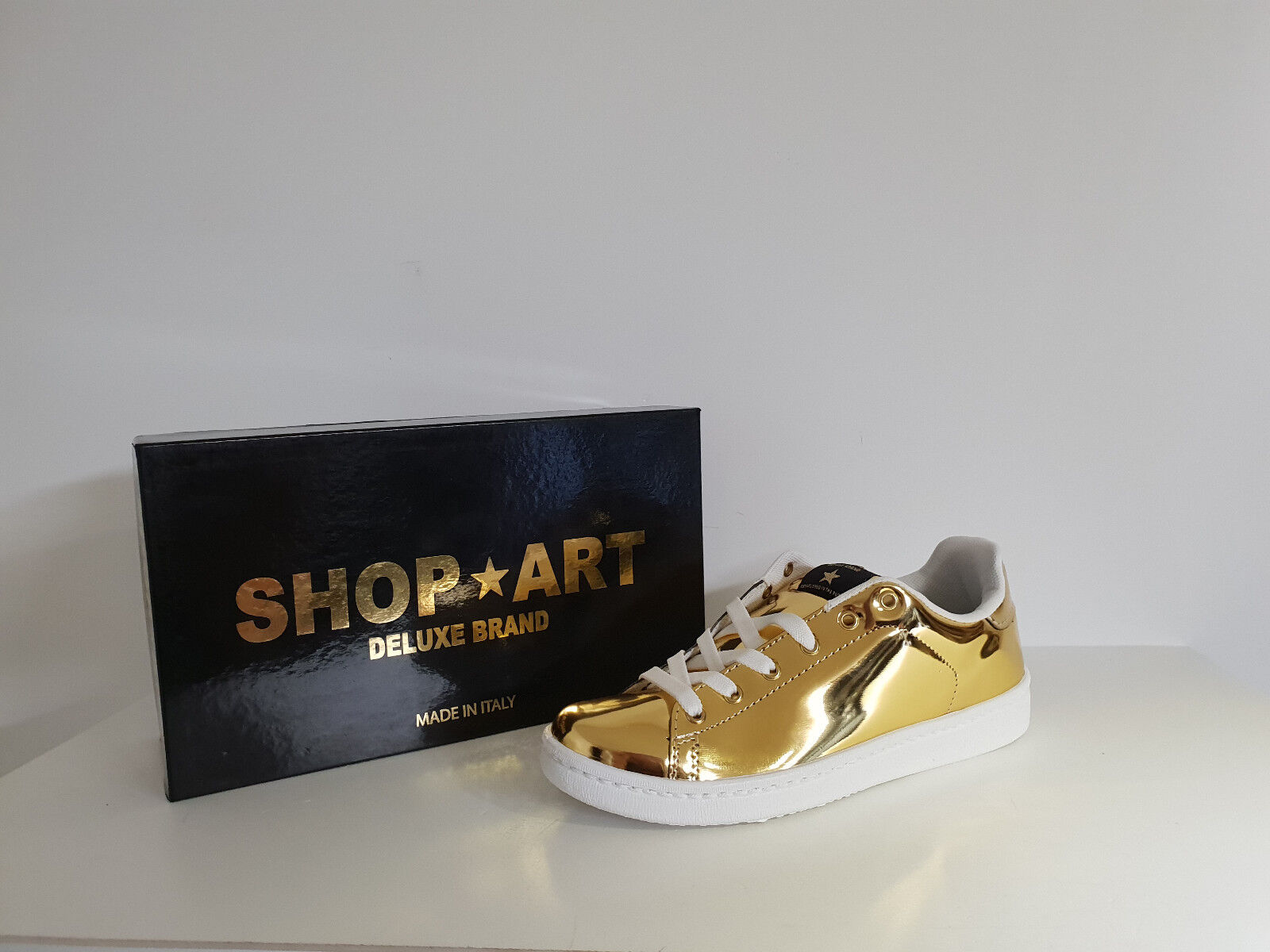 Shop Art  Sneakers Damenschuhe  Sconto - 50 %  Art. SA - 8041 -  Col. Oro