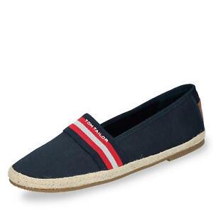 wholesale dealer faa30 8a78d Details zu Tom Tailor Damen Espadrilles Slipper Ballerina Schlupfschuhe  Sommer Schuhe blau