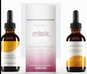 Cure gouttes day and night et detox minceur ariix neuf   eBay