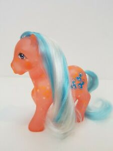 Happy-glow-G1-Vintage-My-Little-Pony-Hasbro-toy-1985-Glow-n-and-Show