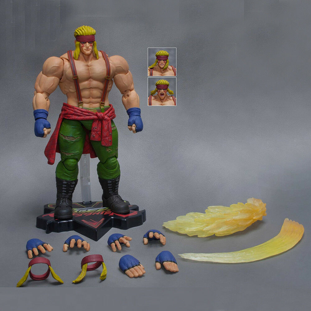 Storm Toys Collectibles Street Fighter V Alex 1 12 Deluxe Action Figure Model