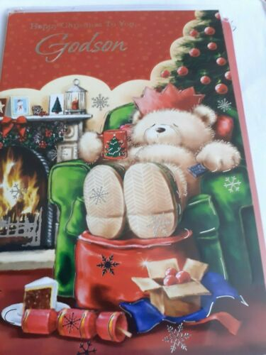 Godson christmas cards