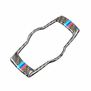 For-BMW-3-Series-E90-E92-Carbon-Fiber-M-Sport-Headlight-Switch-Frame-Cover-Trim