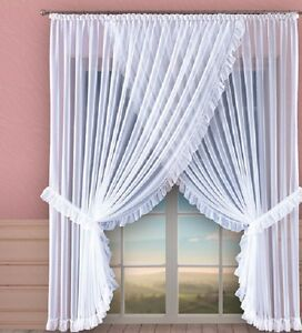 Lovely-White-Long-Short-Voile-Net-Curtain-Home-Window-Decoration-Ready-Made