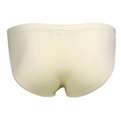 Men Ice silk Seamless Underwear Boxer Briefs Bulge Pouch Underwear Trunks Shorts