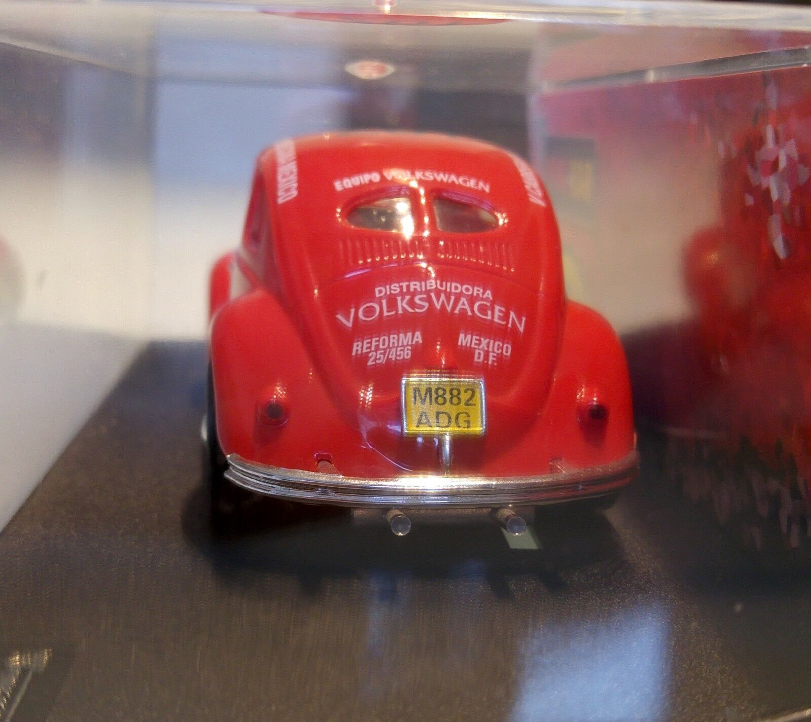 rose KAR VW BEETLE rouge MILE MIGLIA REF. CV042
