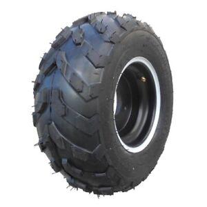 Komplettrad-Felge-mit-Reifen-3-Loch-16x8-7-schwarz-links-Quad-ATV-Kinderquad