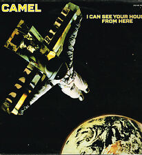 """album 12"""" 30cms: Camel: I can see your house from here. decca - barclay E"""