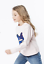 NEW-ZADIG-amp-VOLTAIRE-KIDS-039-Girls-039-sweatshirt-Light-pink-cotton-SIZE-Small miniature 2