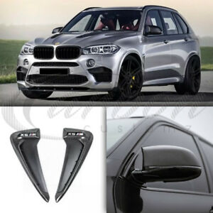 26ae744a725f BMW X5M (F15) Real Carbon Fibre Mirror Covers   Side Grilles Pack M ...