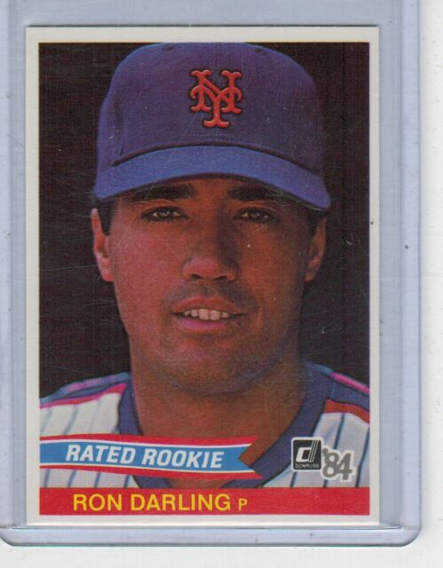 1984 Donruss Ron Darling Rated Rookie #30 Mets Nm/mt