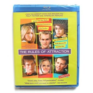 NEW-The-Rules-of-Attraction-DVD-BLU-RAY-Movie