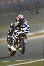 "Randy de Puniet Hand Signed Moto GP 2013 Power Electronics Aspar Photo 12x8"" B"