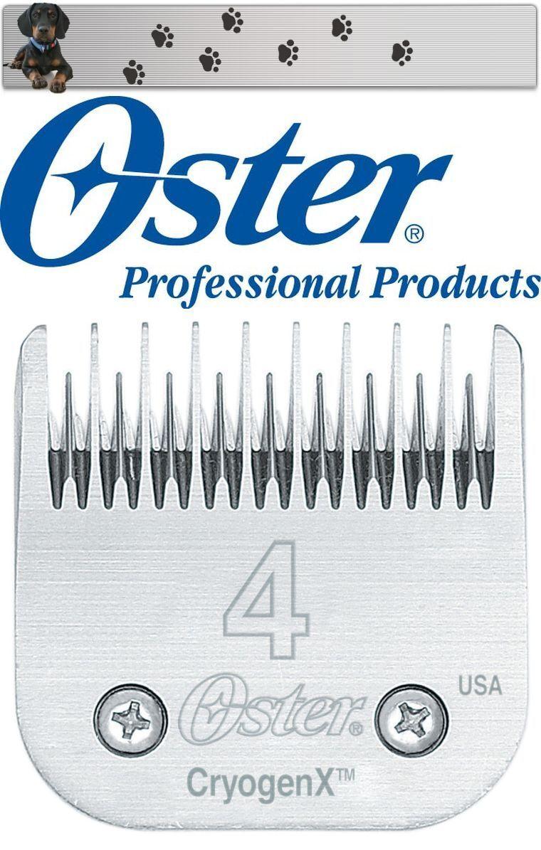 fantastica qualità Oster a5 Scher testa 9,5 mm Dimensione 4 CRYOGEN-X CRYOGEN-X CRYOGEN-X  NUOVO  Ovp   migliore qualità