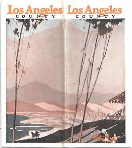 Los angeles county travel brochure c1928 things to do and for Things to do and see in los angeles