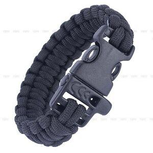 Hot-Sale-550lbs-Survival-Bracelet-Buckle-Paracord-Parachute-cord-Cable-Whistle