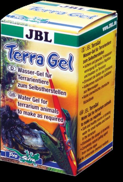 JBL TerraGel 30g Water gel for terrarium animals