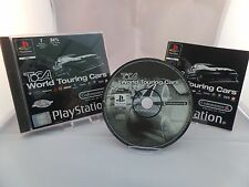 PS1 *Toca World Touring Cars* Anleitung & OVP / Playstation 1 Rennspiel