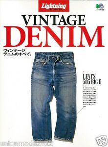 All-about-Vintage-Denim-Photo-Book-Bible-Catalogue-Archives-VTG-30-70-039-s-LEVIS