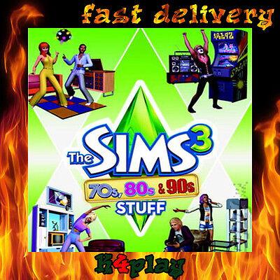 The Sims 3 70s 80s 90s Stuff Pack PC Origin CD Key GLOBAL
