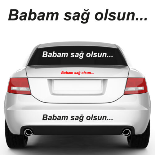 Babam dis Olsun autocollant-sticker-FENERBAHCE-Galatasaray Besiktas
