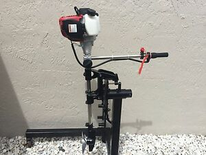 Kayak Outboard Motor Engine Leg For Use With Small