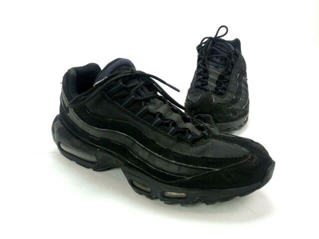 Size 11.5 - Nike Air Max 95 Triple Black - 609048-092