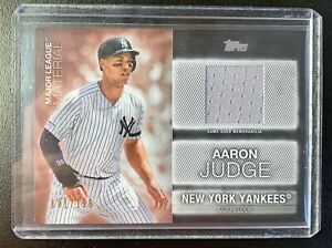 2020-Topps-Series-One-AARON-JUDGE-Jersey-Patch-Relic-SP-199-New-York-Yankees