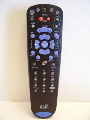 DISH NETWORK BEV 4.0 IR//UHF PRO TV1 TV2 322 3200 REMOTE CONTROL Model # 132577