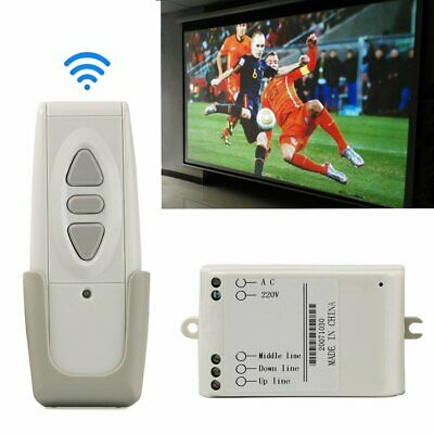 Wireless Remote Control Up Down Switch 433MHz for Projection Screen//Garage Doors