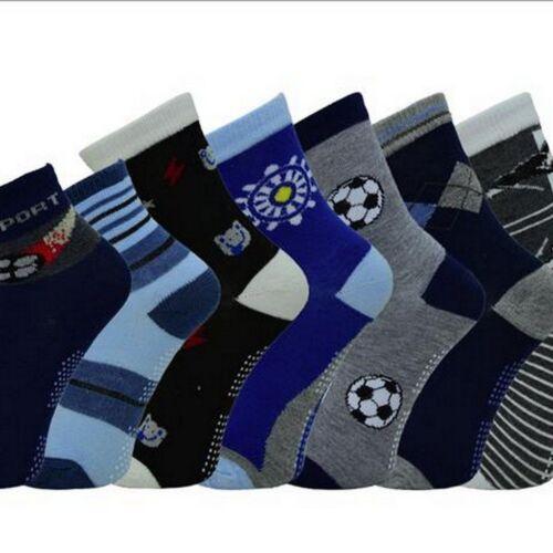12 Paar Mädchen Socken ABS Noppen 23 24 25 26 27 28 29 30 31 32 33 34 35 36 37 3