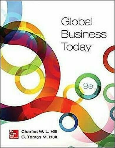 Global Business Today von Hill Dr, Charles W.L Hult, G. Tomas M Exlibrary