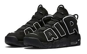 Image is loading New-2016-Nike-Black-AIR-MORE-UPTEMPO-Scottie-