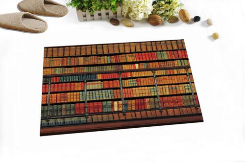 Patrimoine culturel Bibliothèque imperméable rideau de douche 12 crochets Salle de bains Tissu