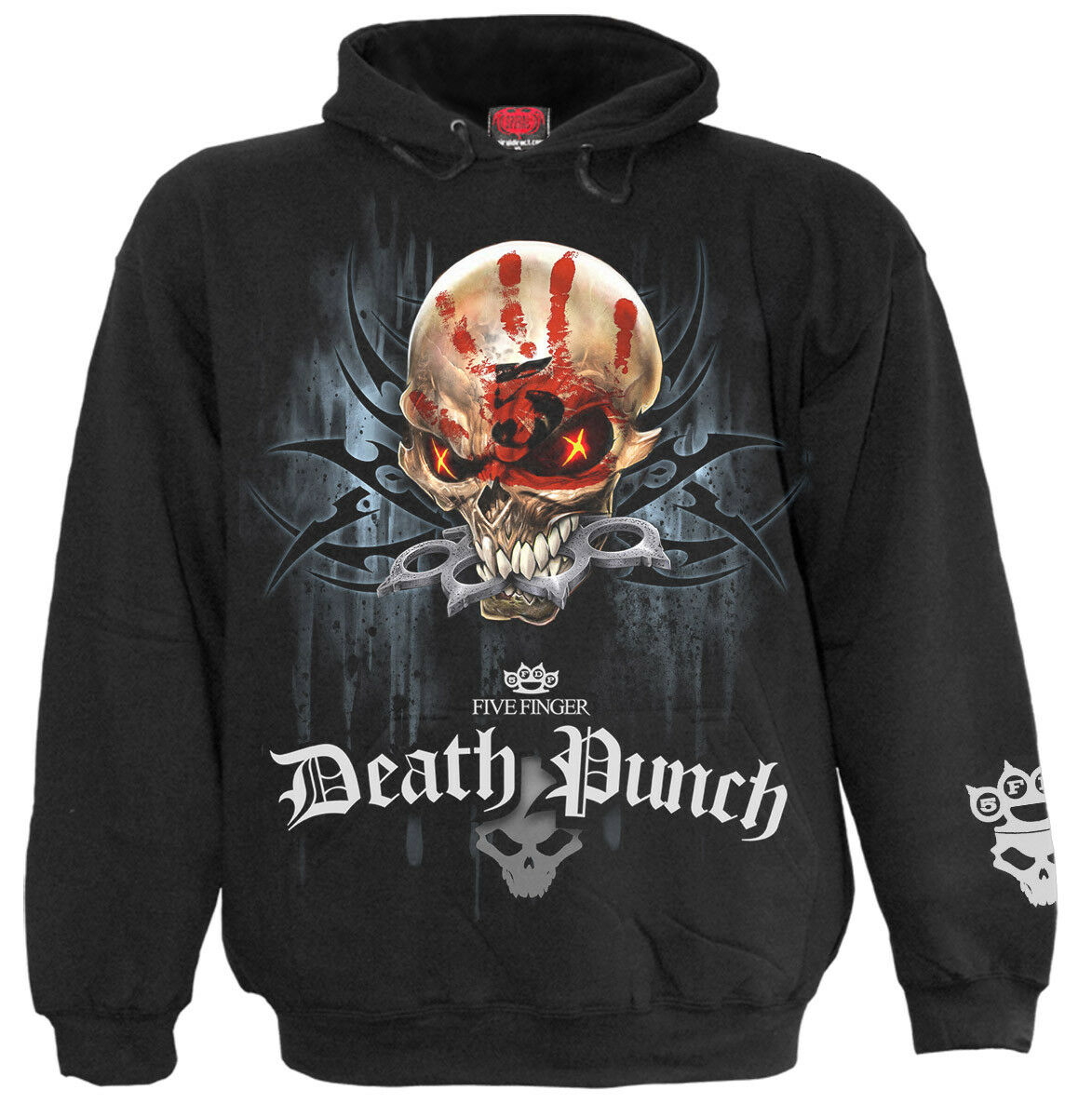 SPIRAL DIRECT 5FDP - GAME OVER Hoody/Officially Licensed Five Finger Death Punch