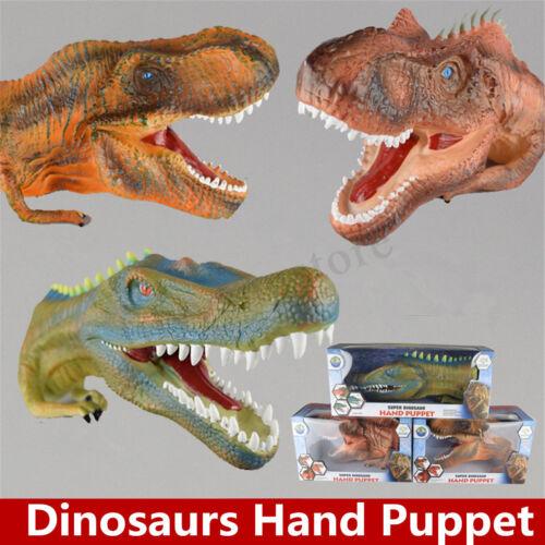 Baryonyx Allosaurus Tyrannosaurus Dinosaur Hand Puppet Realistic Play Model Toy